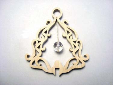 Finished Scroll Saw Ornament