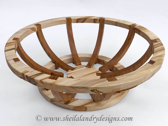 Scroll Saw Basket Pattern