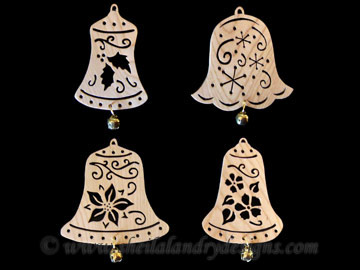 Scroll Saw Bell Ornaments Pattern