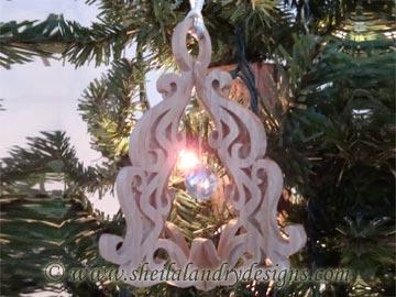 Scroll Saw Christmas Ornament Pattern