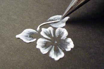 Draw Flower Stem In Pattern