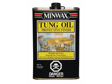Tung Oil Finish