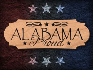 Alabama Scroll Saw Pattern