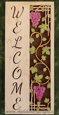 Free Scroll Saw Welcome Pattern